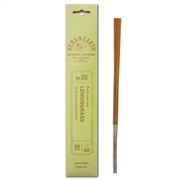 NIPPON KODO | HERB & EARTH - Bamboo Stick Incense LEMONGRASS
