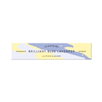 SCENTSUAL - Brilliant Blue Lavender 30 sticks (case pack qty -12)