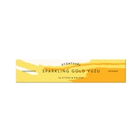 SCENTSUAL - Sparkling Gold Yuzu 30 sticks (case pack qty -12)