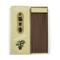 NIPPON KODO | MORNING STAR - INCENSE - VANILLA - 200 sticks
