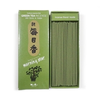 NIPPON KODO | MORNING STAR - INCENSE - GREEN TEA - 200 sticks