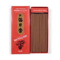 NIPPON KODO | MORNING STAR - INCENSE - Myrrh 200 sticks