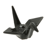 NIPPON KODO | CRANE INCENSE HOLDER - BLACK