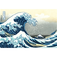 NIPPON KODO | The great wave - Japanese Art Blank Card (10 pcs.).