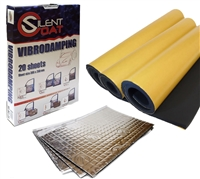 Silent Coat Hatchback Car Boot Sound Deadening Kit
