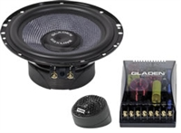 Gladen Audio SQX 165 Components