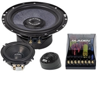 Gladen Audio SQX 165.3 3 way Components
