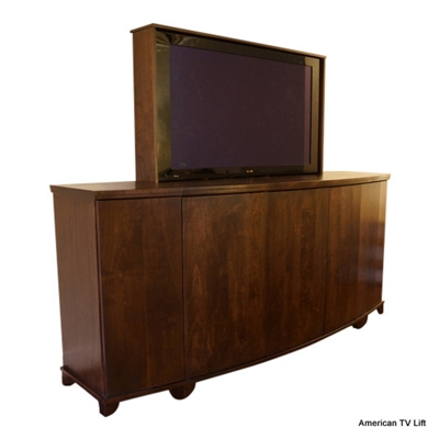 Transitional Arcadian TV-Lift Cabinet