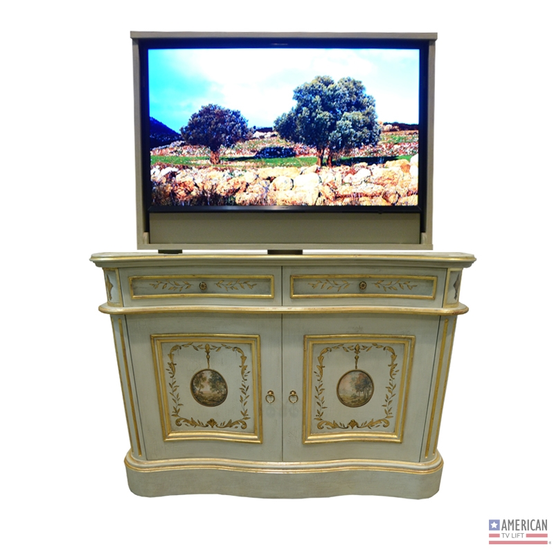 french country tvlift cabinet bon air se