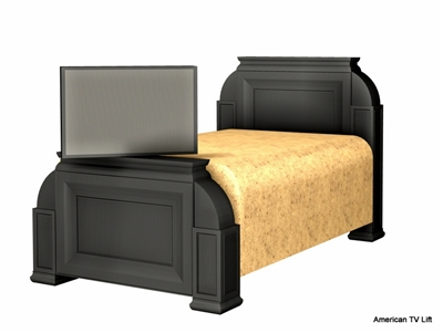 Transitional Anthia TV Lift Bed