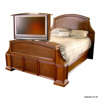 Transitional Spokane TV Lift Bed