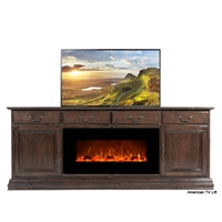 Traditional Berkshire Fireplace TV Lift Cabinet