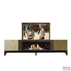 Modern Vero Fireplace TV Flip Lift Cabinet