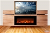 Modern Valley Fireplace TV Flip Lift Cabinet