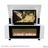 "50"" TV Lift Cabinet - Modern Rockford Fireplace (SC)"