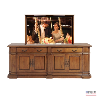 Traditional Highland Park TV Lift Cabinet