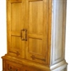 Hickory and Cypress Cabinet