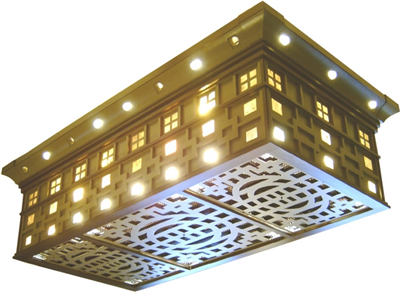 The Oliver Motorized Air Filtration Light Fixture