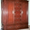 Red Maple Dresser with Side Storage [In Stock]