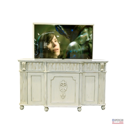 "Traditional Naples TV Lift Cabinet - 55"" TV or Less [In Stock]"