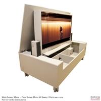modern albany tv lift cabinet