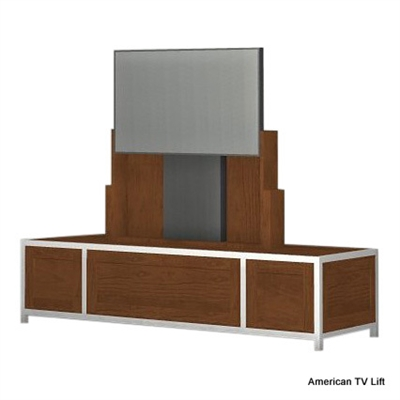 Modern Drako Flip Up Tv Lift Cabinet