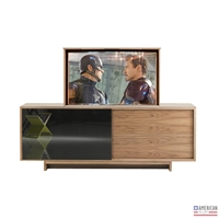 Modern Halls Creek TV Flip Lift Cabinet