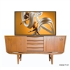 Art Deco Victor TV Lift Cabinet