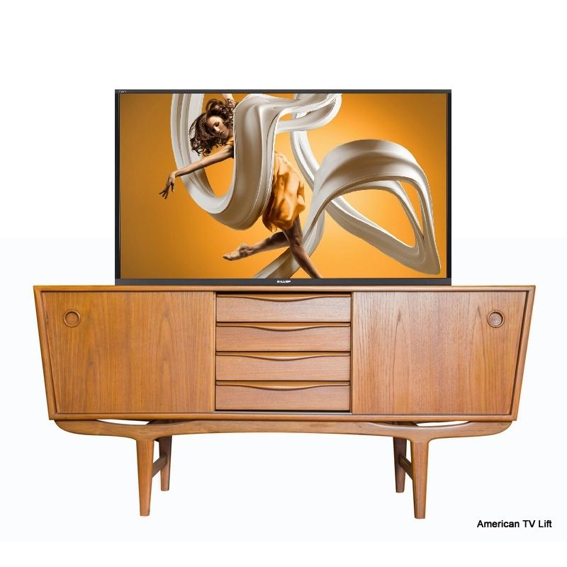 Art Deco Victor Tv Lift Cabinet