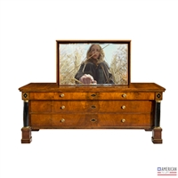 Traditional Sun Valley TV Flip Lift Cabinet