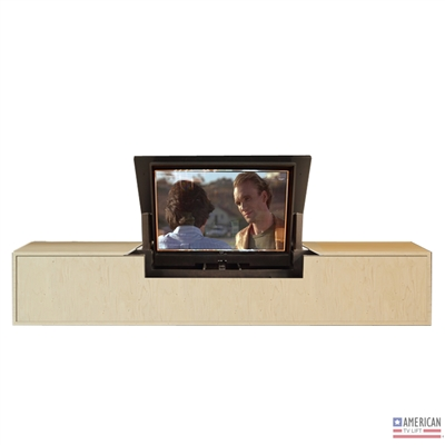 Modern Cloud TV Flip Lift Cabinet