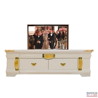 Modern Delray TV Flip Lift Cabinet Coffee Table
