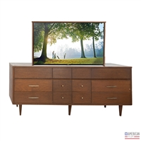 Transitional Waltham TV Lift Cabinet