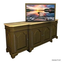 French Country Southland TV Lift Cabinet