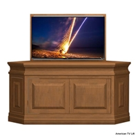 Traditional Destin Corner Tv Lift Cabinet