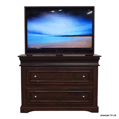 Transitional TylerTV Lift Cabinet