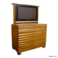 Modern Vineyard TV Lift Cabinet