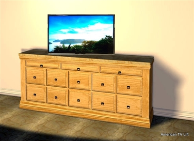 Traditional Athens Tv Lift Cabinet