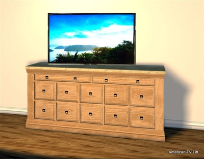 Traditional Athens 2 Tv Lift Cabinet