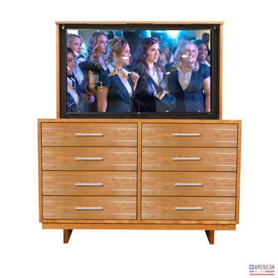 Modern Iowa TV Lift Cabinet (FC)