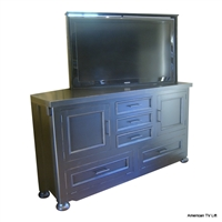 Transitional Meadow Brook TV Lift Cabinet