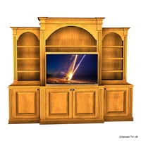 Traditional Augusta Entertainment TV Lift Cabinet