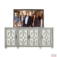 Transitional Hawthorne TV Lift Cabinet