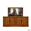 Transitional Flint TV Lift Cabinet