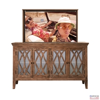 Transitional Wisconsin TV Lift Cabinet
