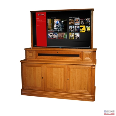 Traditional Reed TV Lift Cabinet