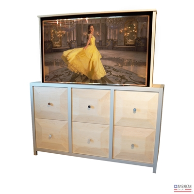 Modern Jewel TV Lift Cabinet