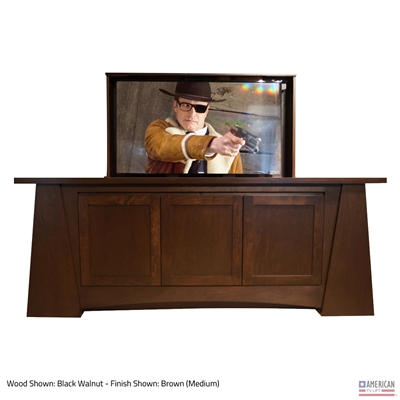 Modern Aspen Wide TV Lift Cabinet