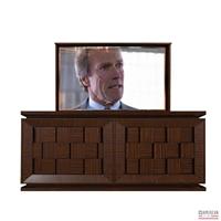 Modern Davenport TV Lift Cabinet