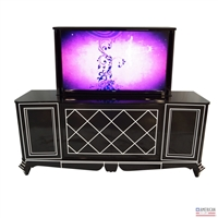 Transitional Park Avenue TV Lift Cabinet